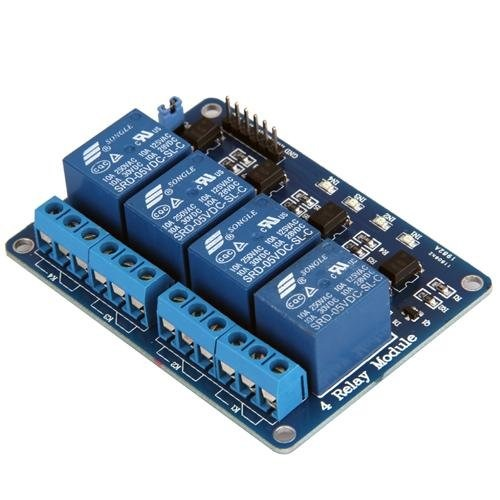 Raspberry Pi  Control Relay Switch Via Gpio