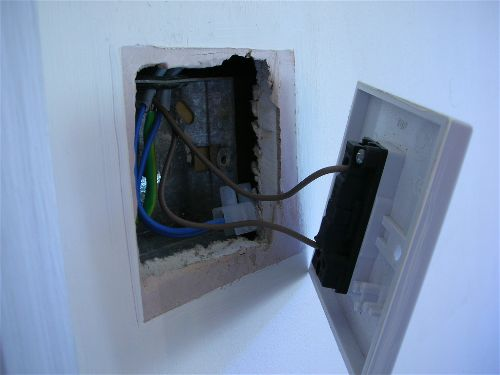 Replacing A Light Switch