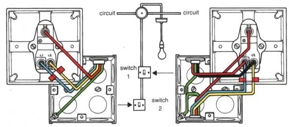 Rewire Two Way Switch