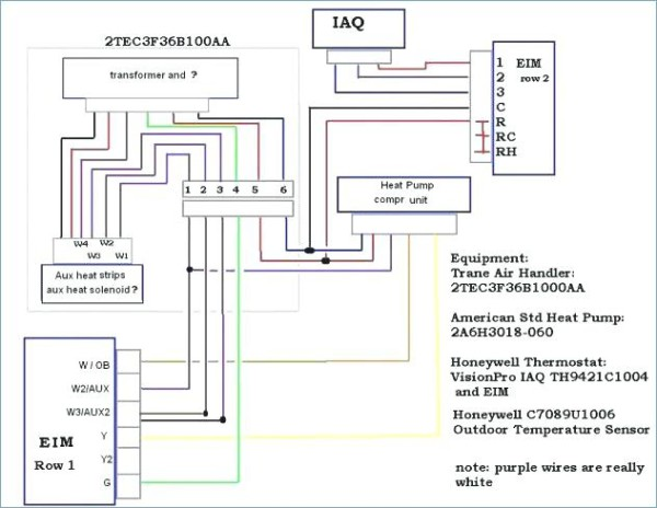 Heat Pump Electrical Schematic