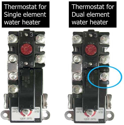 Rheem Water Heater Thermostat Wiring