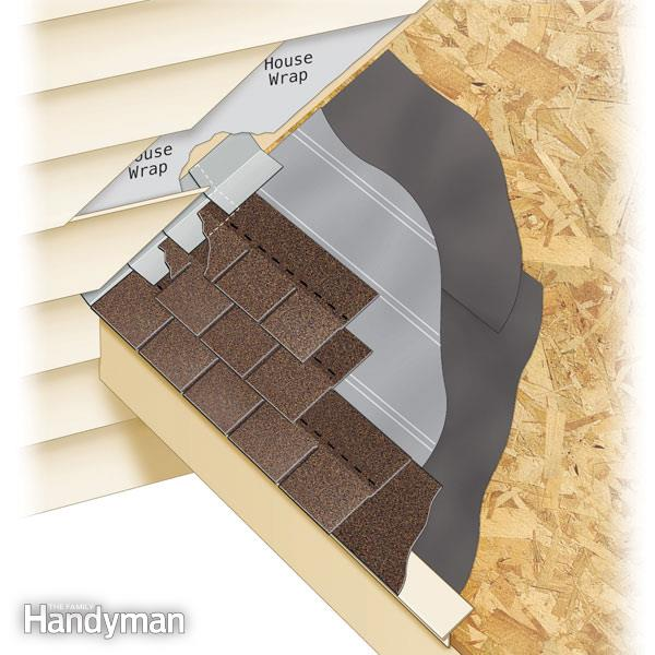 Roofing  How To Install Step Flashing