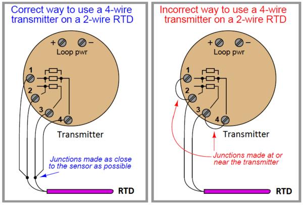 Rtd Sensor Connections Instrumentation Tools