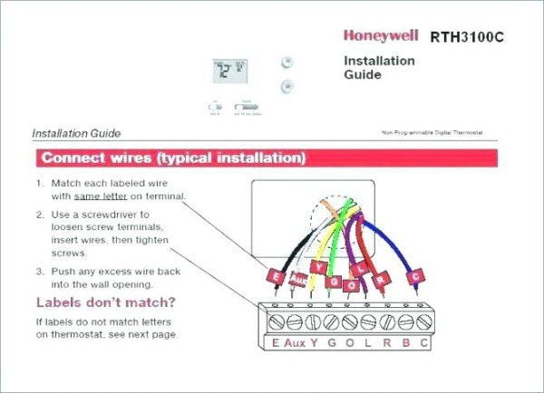 Simple Thermostat Wiring If Simple Thermostat Wiring Diagram