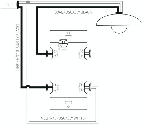 Single Pole Dimmer Switch Wiring Diagram 2 Pole Switch Wiring