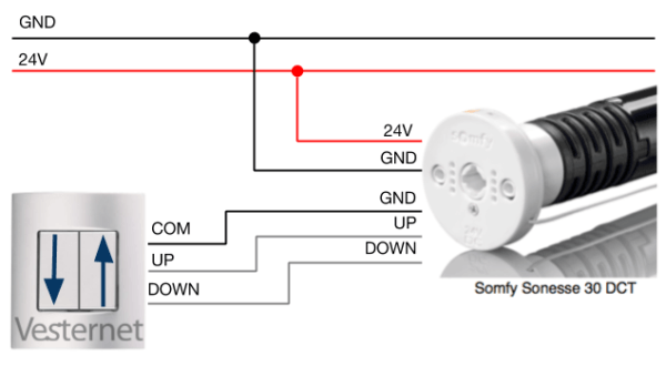 Somfy Rts Wiring Diagram