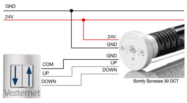 Somfy Rts Wiring Diagram