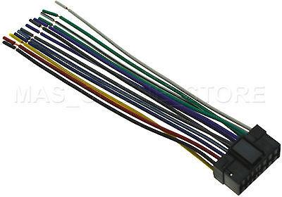 Sony Cdx Gt310 Wiring Harness