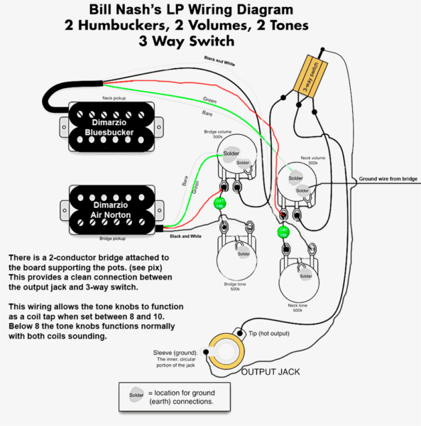 The New Gibson Les Paul And Epiphone Wiring Diagrams