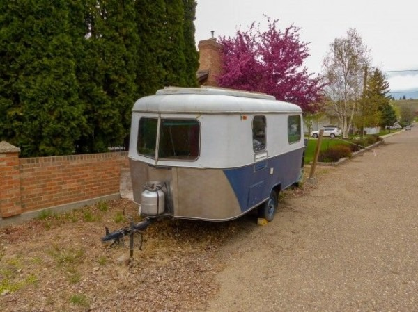 The Tiny Trailer Seen Here, An Eriba Triton, Shares Little In