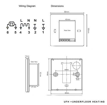 Thermostatanalogwireheat Cool Coleman Thermostat