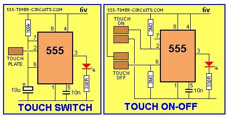 Touch Switch And Touch On