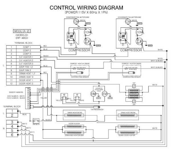 True Gdm 49 Wiring Diagram