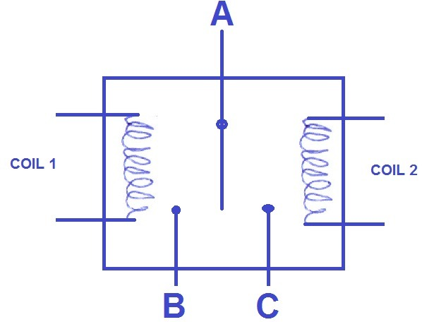 Two Coil Dpst Relay Diagram