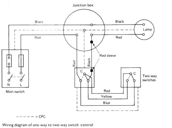 Two Way Dimmer Switch Single Pole Dimmer Switch Wiring Diagram 2