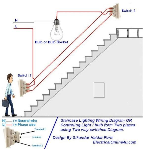 Light Bulb Wiring Diagram