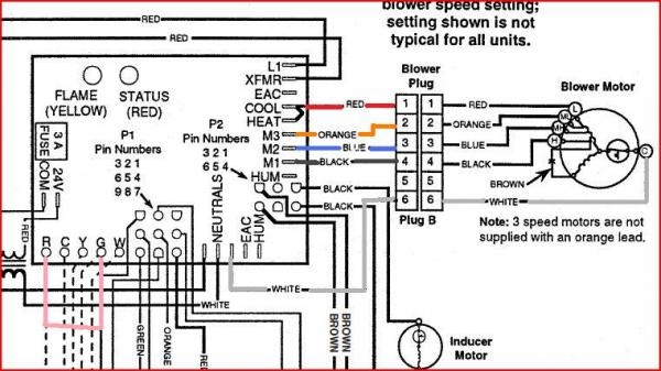 Hvac Control Wire Color Code