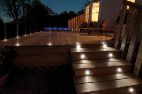 Wired Led Garden Lights Kichler Led Landscape Lighting Volt Led