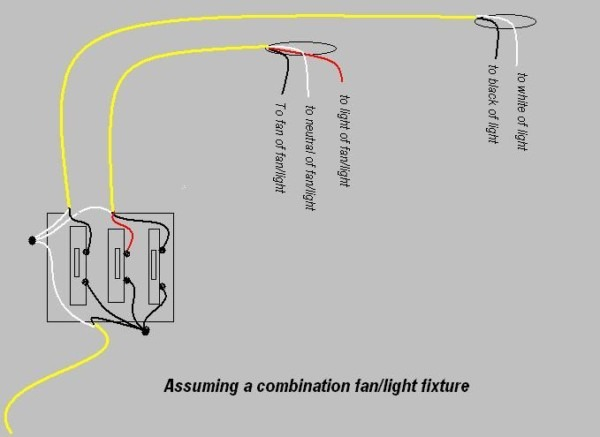 Wiring 3 Switches From One Power Source