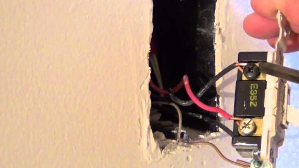 Wiring A Light Switch Black White