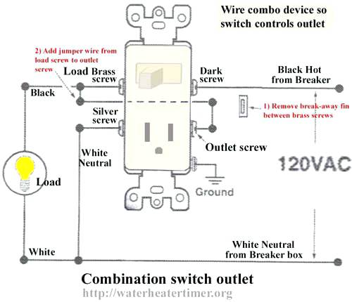 Wiring A Switch And Outlet Wiring A Light Switch Then Outlet