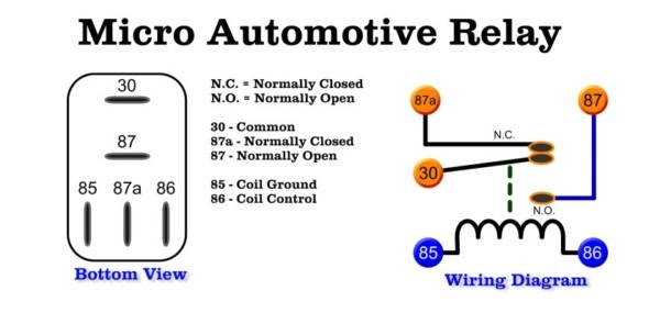 Car Relay Switch Diagram