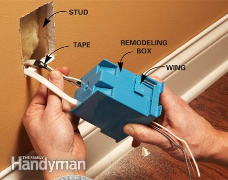 Wiring An Outlet Box Outlet Receptacle Wire Up How To Add An