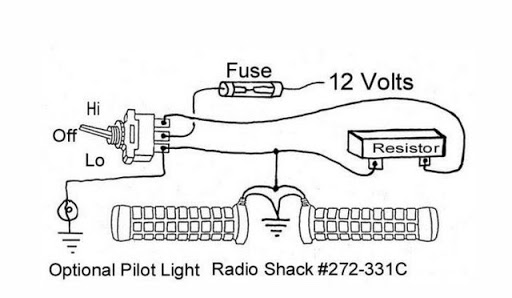 Wiring Diagram For Heated Grips