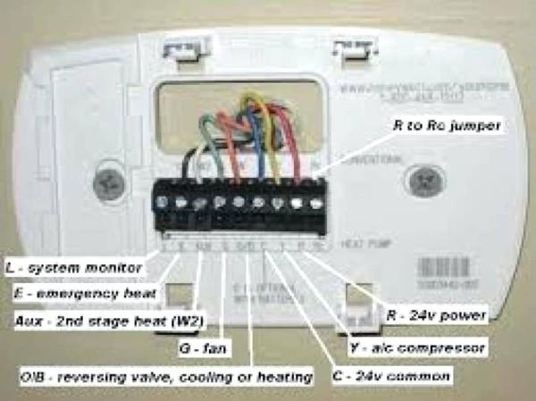 Wiring Diagram Honeywell Thermostat