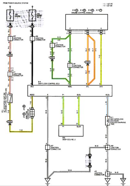 Wiring Diagram For Lexus V8