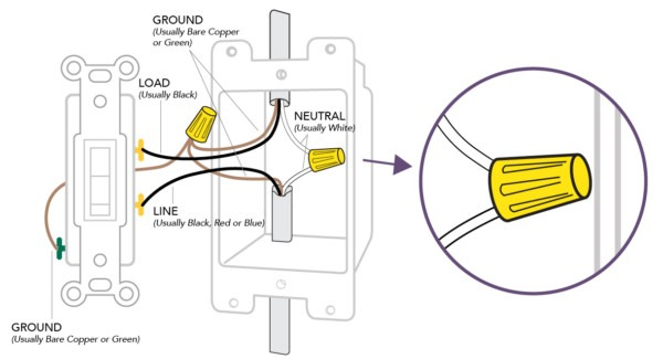 How To Install A Single Pole Dimmer Switch