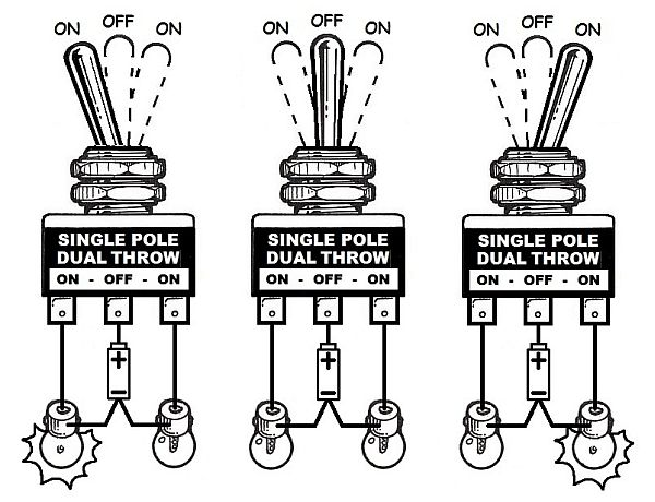 Wiring Diagram For Toggle Switch