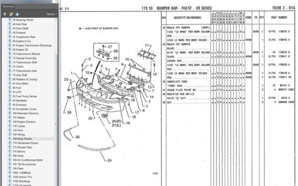 El Falcon Wiring Diagram