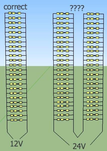 Wiring 12v Lights In Series