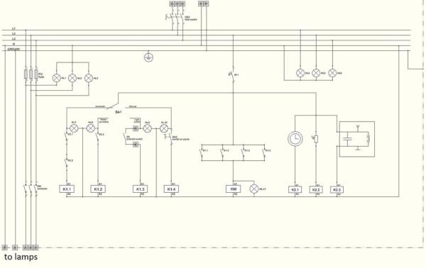 Wiring Panel Diagram