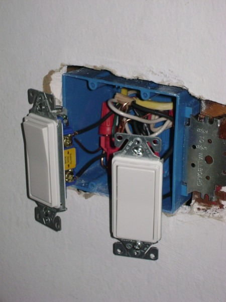 Wiring Power Wire Using A One Room