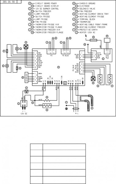 Enjoyable Norcold Refrigerator Wiring Diagram Basic Electronics Wiring Diagram Wiring Cloud Hisonuggs Outletorg