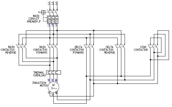 Motor Starter Wiring Schematic