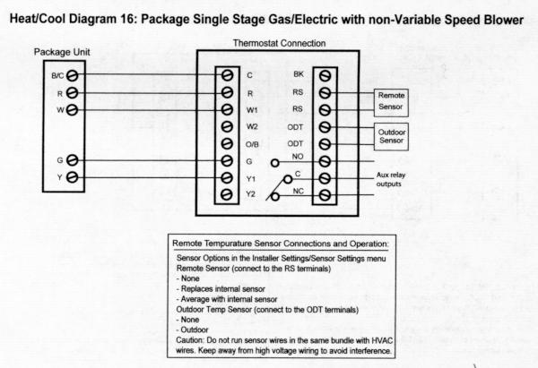 Xlwiring E In Trane Thermostat Wiring Diagram Trane Thermostat