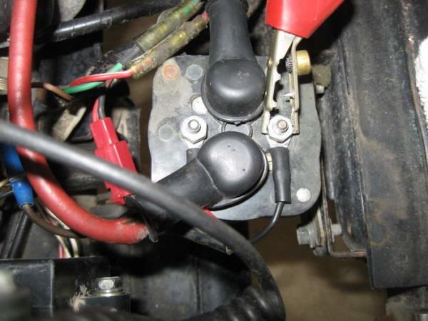 Yamaha G16 Starter Wiring