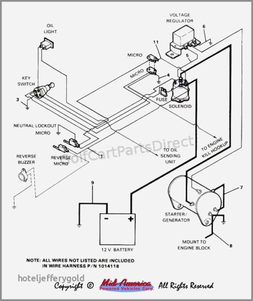 Yamaha Golf Cart Wiring Diagram Generator