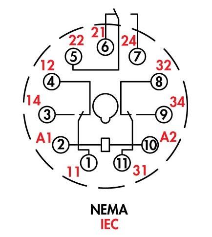 11 Pin Timer Wiring Diagram