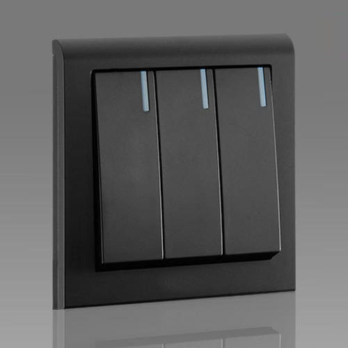 16 Amps Black Modular Electrical Switch, Rs 80  Piece, La Conceptz