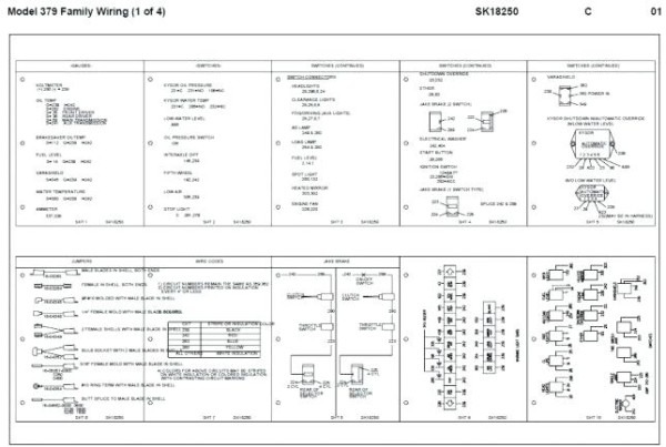 2005 Peterbilt 378 Wiring Diagram 379 Schemes Of – Michaelhannan Co