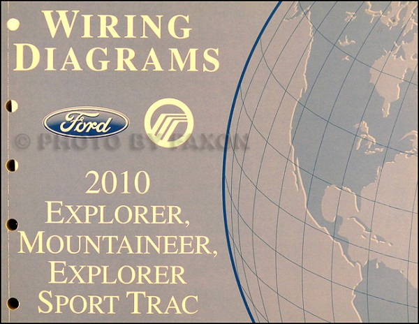 2010 Ford Explorer And Sport Trac, Mountaineer Wiring Diagram