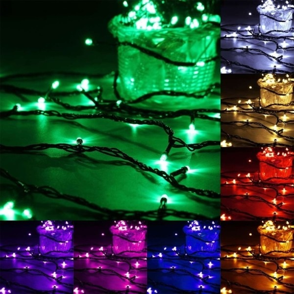 20m 200 Led Strip Ac 220v Fairy Light Indoor Outdoor Wire String