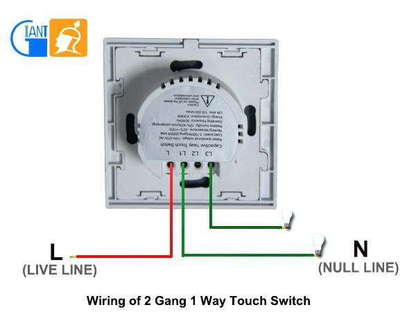 2 Gang Light Switch 1 Way 2 Gang Wiring Diagram Trusted Wiring