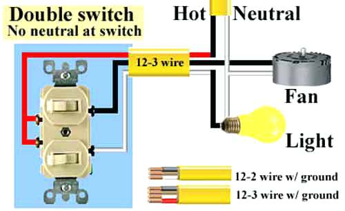 How To Wire A Double Pole Switch Diagram