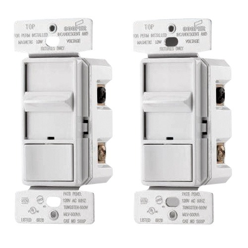 2 Single Pole Sliding Dimmers Si06p