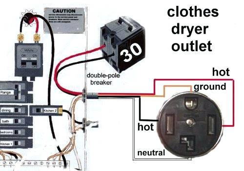 30 Amp Breaker Wiring Diagram